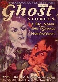 on the 13th day of halloween u2026 ghost stories 1931 yell magazine