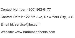 Barnes And Noble Phone Number Barnes And Noble Headquarters Address Contact Number Email Address