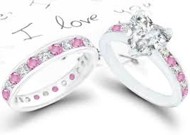 pink wedding rings pink engagement rings trend the engagement ring bible