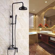 Bathroom Shower Valves Fashionable Rubbed Bronze Exposed Bathroom Shower Faucets