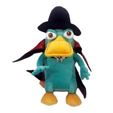 your wdw store disney plush perry the platypus vire