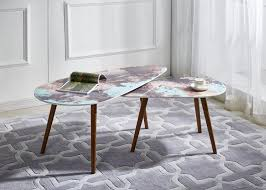 Marble Effect Coffee Tables Modern Coffee Table Products Diytrade China Manufacturers