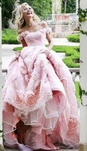sherri hill v pink couture woman pink evening gown