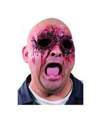 woochie see no evil ripped eyes prosthetic evil halloween costumes