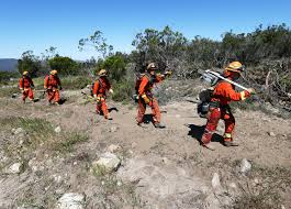 Ca Wildfire Training by Highly Trained Fire Protection For 2 An Hour California U0027s Inmate