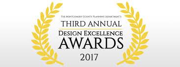 design award design award 2017 montgomery planning