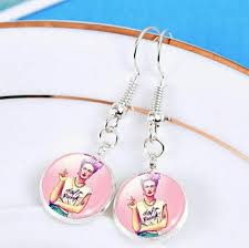 frida earrings jewely s justifiables new frida kahlo pink daft earrings