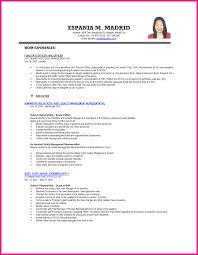 sample resume for human resources manager sample objectives in resume for hrm free resume example and sample resume letter for ojt hrm students