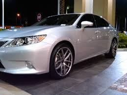 lexus wheels and tires 2013 lexus es350 with 20 inch lorenzo wl199 wheels