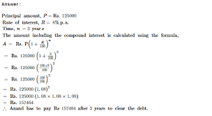 compound interest rs aggarwal class 8 maths solutions ex 11b