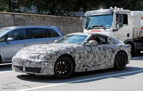 new toyota 2016 2018 2019 toyota supra first prototype spotted supramkv