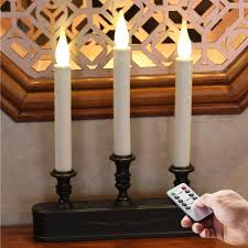 Window Candle Lights Led Battery Operated Flickering Window Candles Youtube With Window