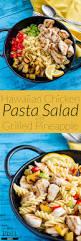 yummy pasta salad hawaiian chicken pasta salad with grilled pineapple easy pasta