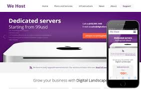 we host a web hosting flat bootstrap responsive web template by