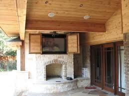 stone fireplace storage entertainment center ideas marvelous
