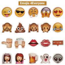 amazon com props4everyone 20 pieces emoji photo booth prop diy
