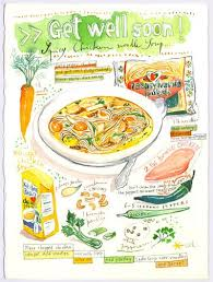 get well soon soup get well soon spicy chicken noodle soup recipe lucileskitchen