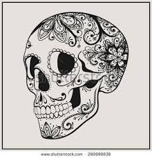 sugar skull stock images royalty free images u0026 vectors shutterstock