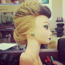 hairstyles to do on manikin i find fishtail braids so elegant also texture irons work