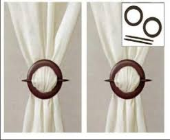 Wooden Curtain Holdbacks Uk Check Out These Wooden Curtain Tie Backs 7 99 Http Www