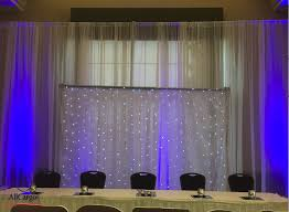 wedding backdrop toronto allcargos tent event rentals inc 10 x 10 white sheer pipe
