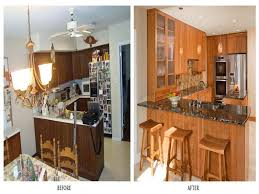 Kitchen Makeovers Photos - 30 small kitchen makeovers before and after home interior and design