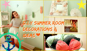 d i y summer room decorations u0026 ideas youtube