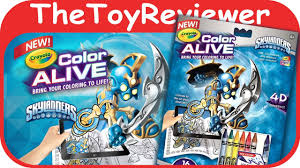 skylanders crayola color alive action coloring pages unboxing toy