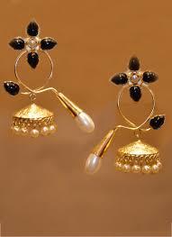 fancy jhumka earrings party wear fancy golden earrings for women collection catalog