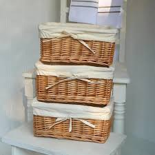 Corner Storage Shelves by Interior White Corner Ladder Storage Shelves With 3 Rustic Woven