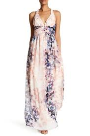 sl fashions halter maxi dress nordstrom rack