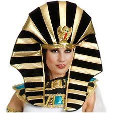 King Tut Halloween Costume King Tut Egyptian Pharaoh Hat Costume Adjustable Headpiece