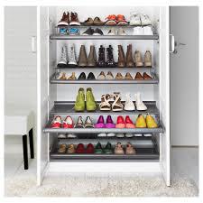 komplement pull out shoe shelf dark grey 100x58 cm ikea