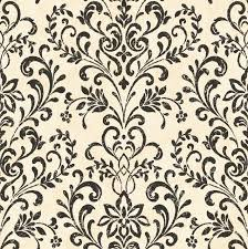 neutral country damask wallpaper contemporary wallpaper by