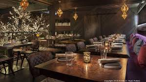 toca madera open table exclusive high end hollywood mexican restaurant toca madera