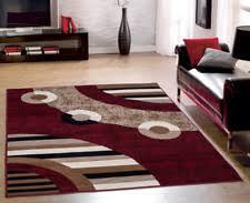 red modern area rugs ebay