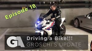 cbr series bikes driving a bike for the first time honda cbr 500 ga update 18