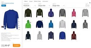 shirt selbst designen pullover selbst gestalten so individuell wie du selbst