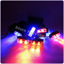 multi colored strobe light sell multi colored 16 led 8 flashing modes car emergency