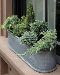 Window Box For Herbs Container Garden Ideas For Any Household Martha Stewart