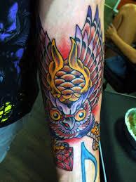 los angeles custom tattoos owl n y u2014 tattoos by james vincent