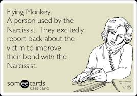 Flying Monkeys Meme - flying monkey a person used by the narcissist they excitedly
