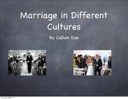 marriage in different cultures