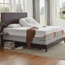 tempur pedic ergo tempur adjustable bed u0026 reviews wayfair