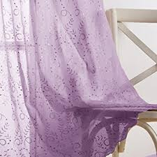 Purple Curtains For Nursery Purple Nursery Sheer Curtains With All Embroidery
