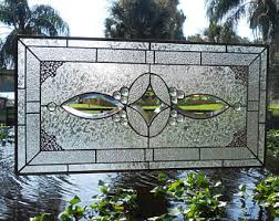 Vintage Transom Windows Inspiration Stained Glass Window Panel Stained Glass Transom Window