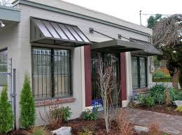 Metal Awnings For Home Windows Metal Awning Commercial Signage Portland Pike Awning Company