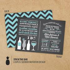 stock the bar invitations stock the bar couples engagement party invitations 2222616 weddbook
