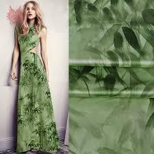 aliexpress com buy american style green bamboo print spandex
