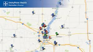 directions and maps directions and maps unitypoint health methodist peoria illinois